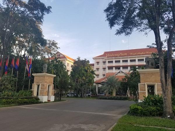 カンボジアホテル