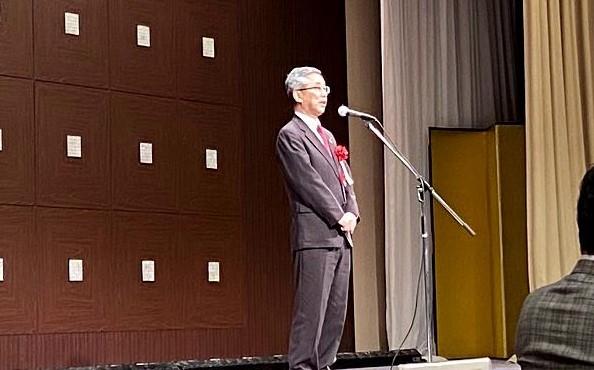 「交歓会」長田副市長挨拶